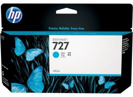 HP No. 727 Cyan tintapatron (130 ml)