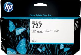 HP No. 727 Fotó fekete tintapatron (130 ml)