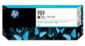 HP No. 727 Matt fekete tintapatron (300 ml)