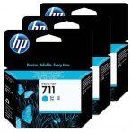 HP No. 711 Cyan 3 darabos patron csomag (29 ml)