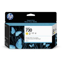 HP No. 730 Yellow tintapatron 130ml