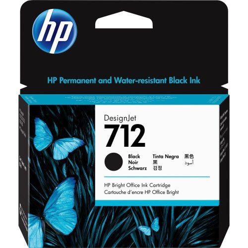 HP No. 712 Fekete patron (80 ml)