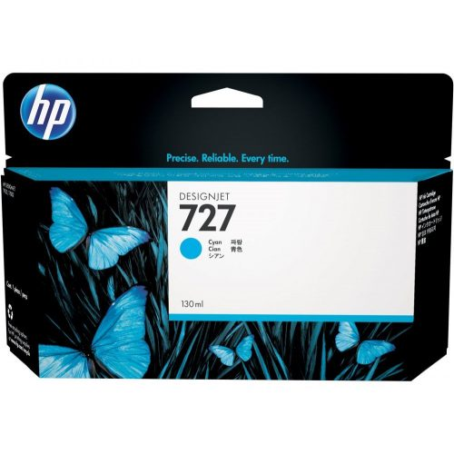 HP No. 727 Cyan tintapatron (130 ml)