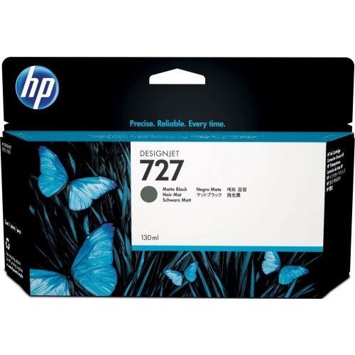 HP No. 727 Matte Black tintapatron (130 ml)