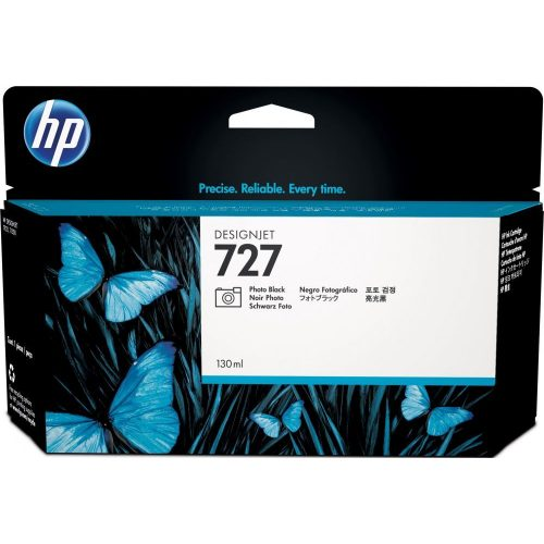 HP No. 727 Photo Black tintapatron (130 ml)