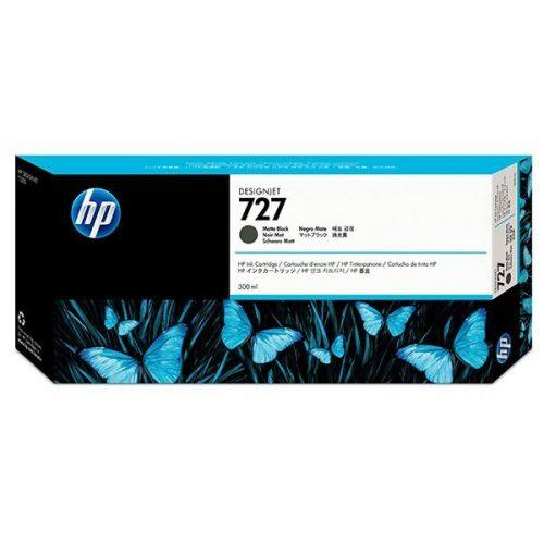 HP No. 727 Matte Black tintapatron (300 ml)