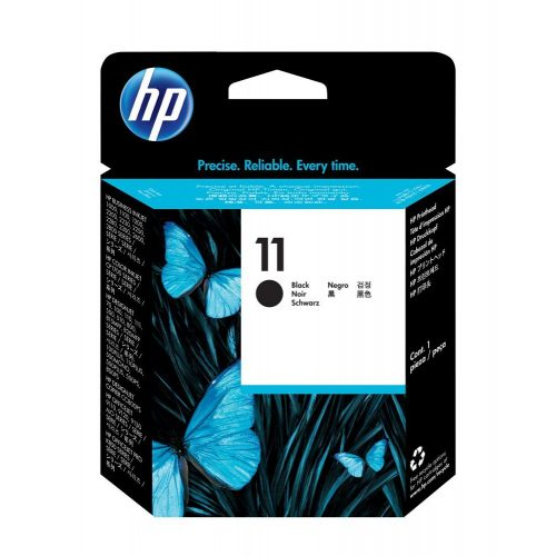 HP No. 11 Fekete nyomtatófej