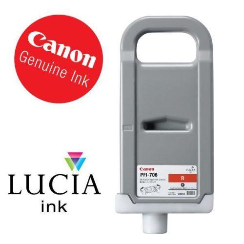 Canon PFI-706R Red 700 ml