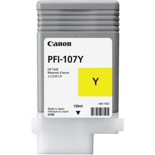 Canon PFI-107Y Yellow 130 ml