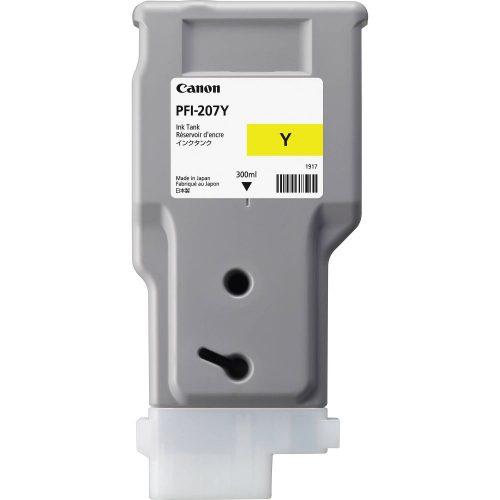 Canon PFI-207Y Yellow 300 ml