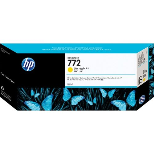 HP No. 772 Yellow tintapatron 300 ml