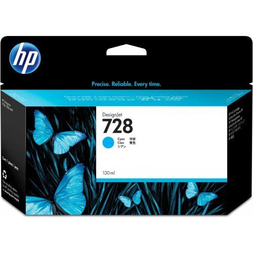 HP No. 728 Cyan tintapatron (130ml)