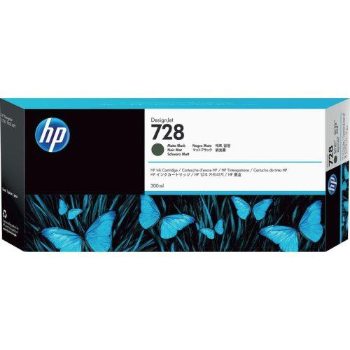 HP No. 728 Matte Black tintapatron (300 ml)