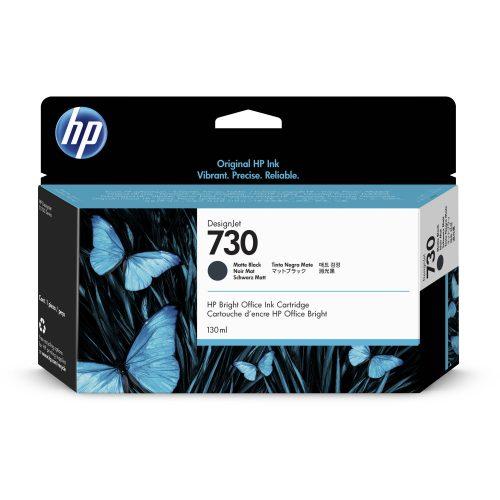 HP No. 730 Matte Black tintapatron 130ml